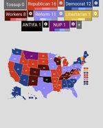 Forty Third United States Presidential election