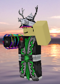 One of his old avatars