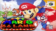 Super Mario 64 Land poste box