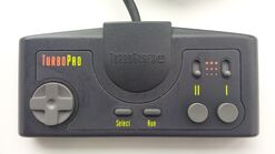 TurboGrafX-16 TurboPad top
