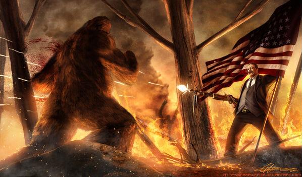Teddy roosevelt vs bigfoot.jpg