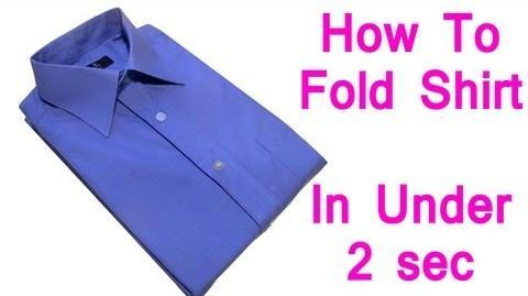 Super Shirt Folding