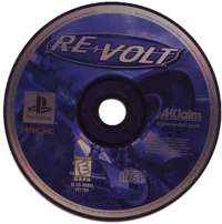 Re-Volt PSX Disc Label (NTSC-U)