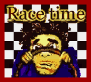 Race time splash screen