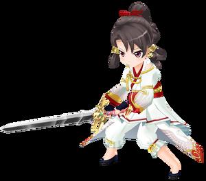 Yamato Takeru Rui Akikaze 3D Model.png