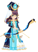 High Priestess Junna Hoshimi 3D Model