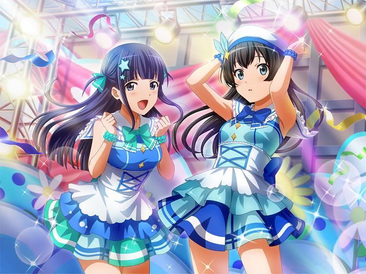 Sparkling Stage Hikari & Mahiru.png