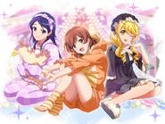 Pajama Party Karen & Tamao & Aruru