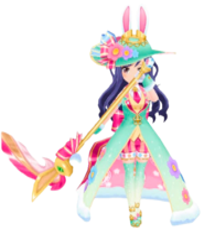 Easter Bunny Shizuha Kocho 3D Model