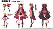 Cheshire Cat Tsukasa Ebisu (Model Sheet)