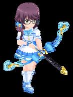 School Idol Junna Hoshimi 3D Model
