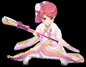 Bride Yuno Futaba Isurugi 3D Model.png