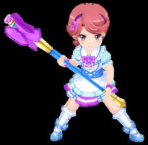 School Idol Futaba Isurugi 3D Model.png