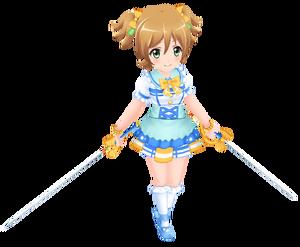 School Idol Nana Daiba 3D Model.png
