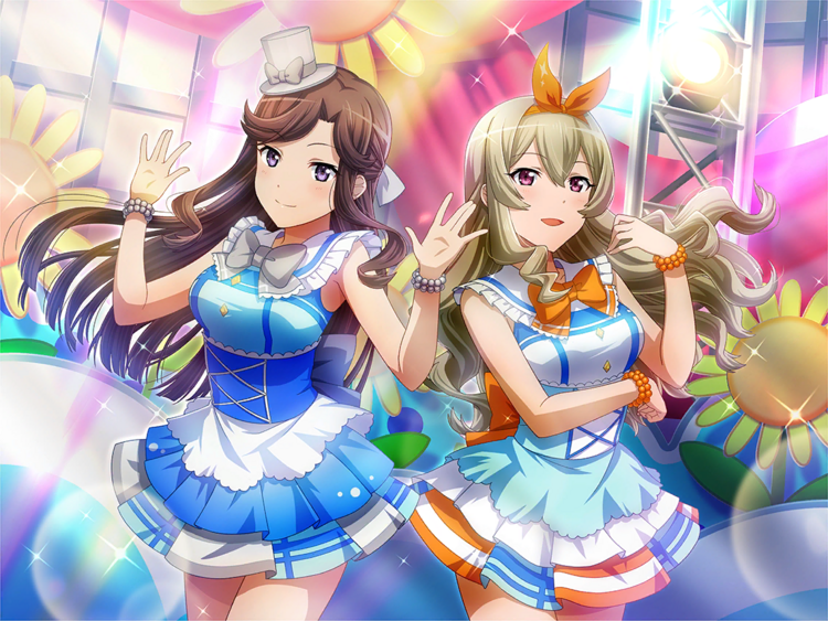 Sparkling Stage Claudine & Maya.png