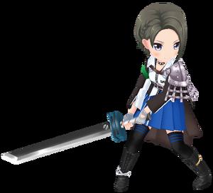 Stage Girl Suzu Minase 3D Model.png