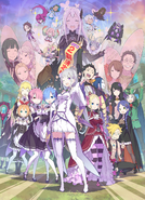 Re Zero Anime Season 2 Announcement