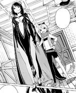 Elsa and Felt - Daisshou Manga