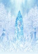 ReZero OVA Bond of Ice Key Visual Clean