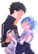 Re Zero - Manga 3 Volumen 5 Portada Arte