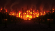 Roswaal's mansion burning ep.49