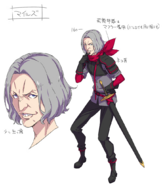 Miles Ex5 character design
