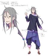 Ubilk LN character design