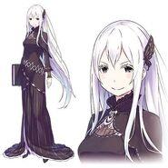 Echidna Character Art