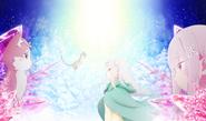 Re Zero OVA 2 Hyouketsu no Kizuna Key Visual