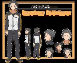 Natsuki Subaru Character Art.png