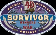 Survivor Winners at War logo
