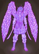 Sasuke perfect susano o armor by jmbfanart-d7v91vr
