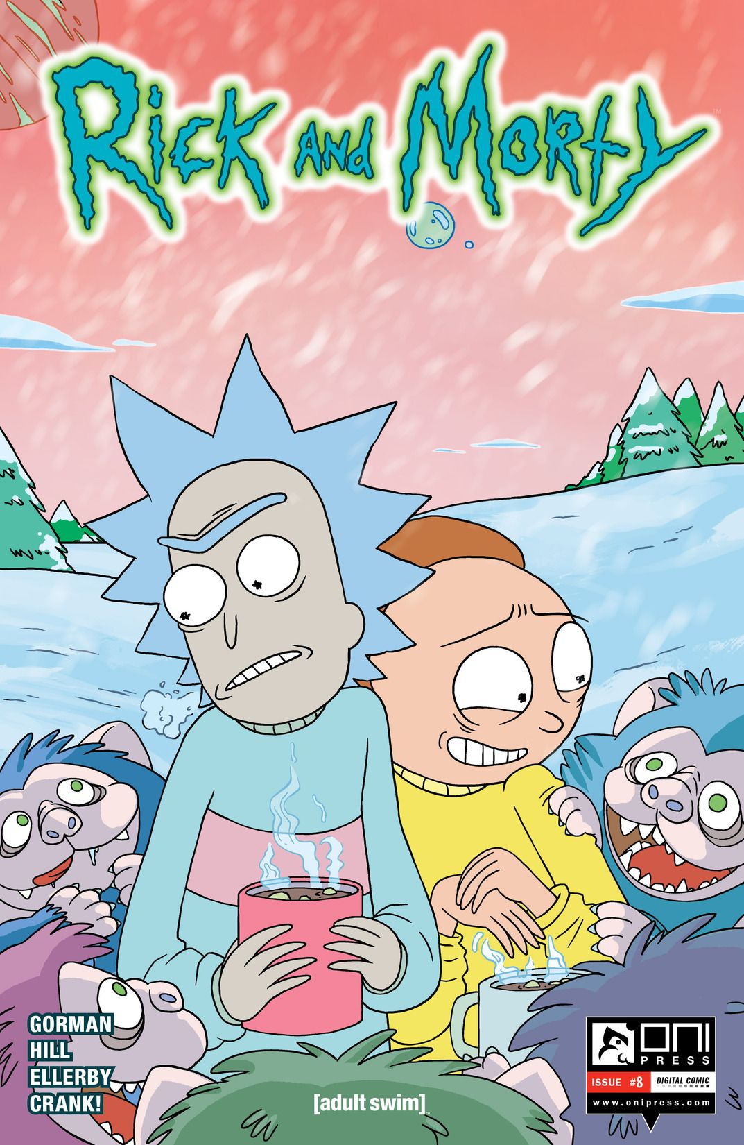 Rick and Morty Issue 8