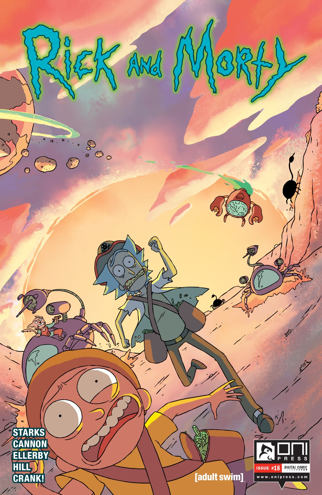 Rick and Morty Issue 18
