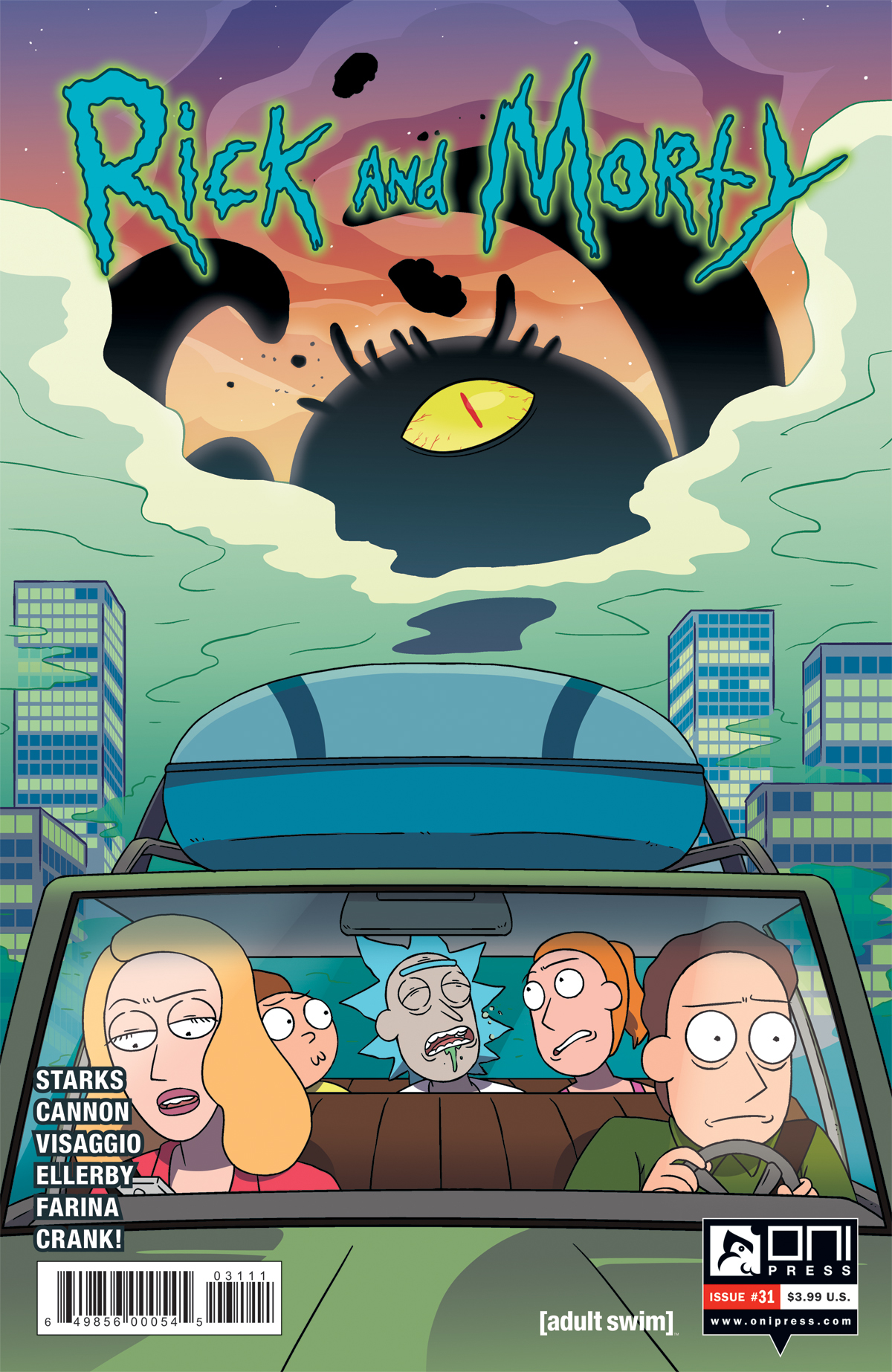 Rick and Morty Issue 31