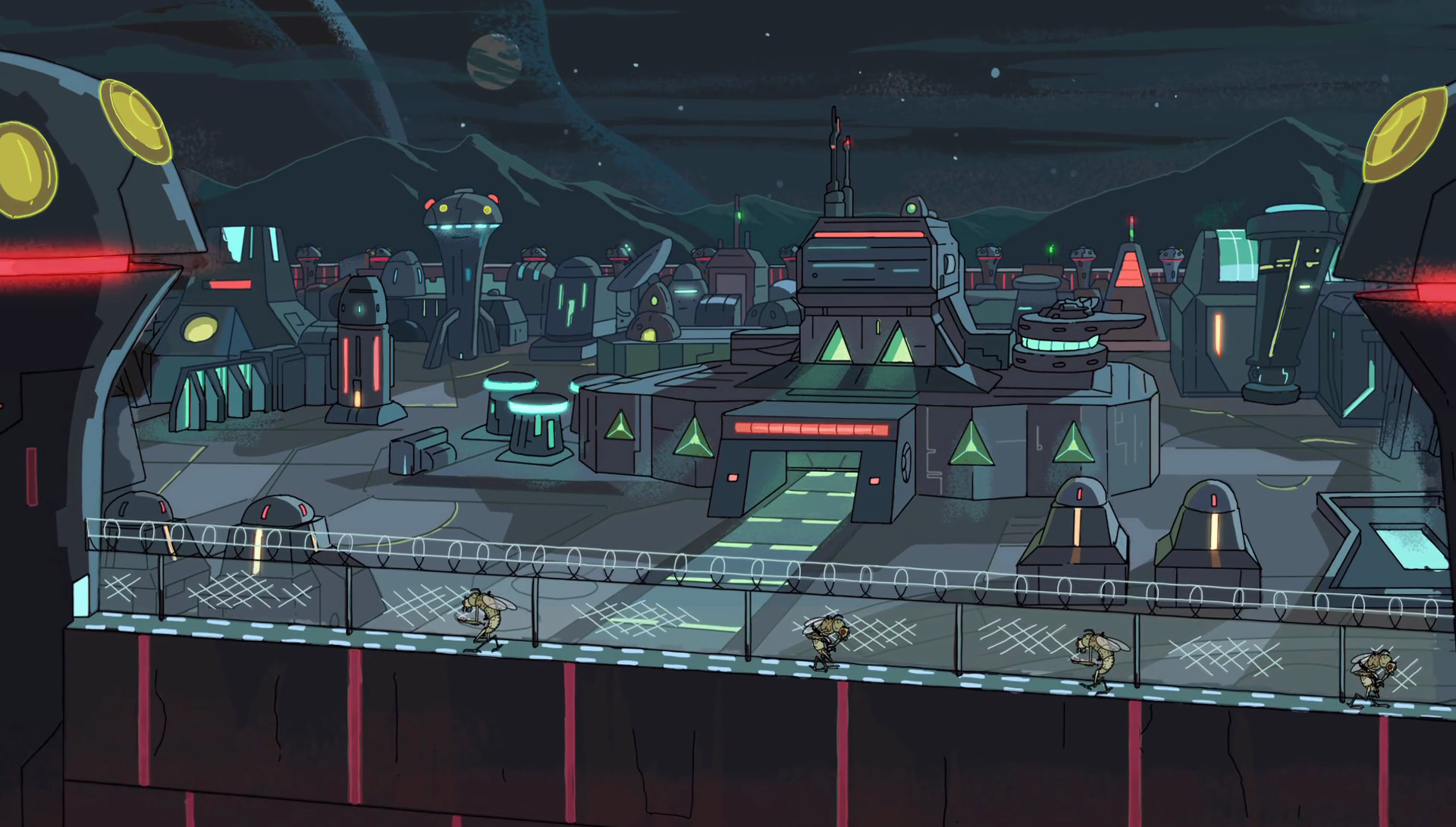 Galactic Federation Outpost