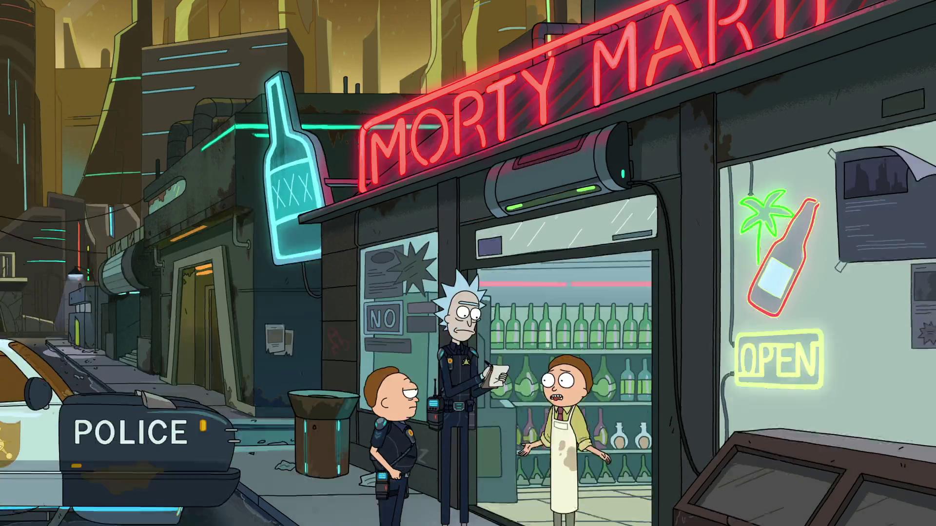 Morty Mart