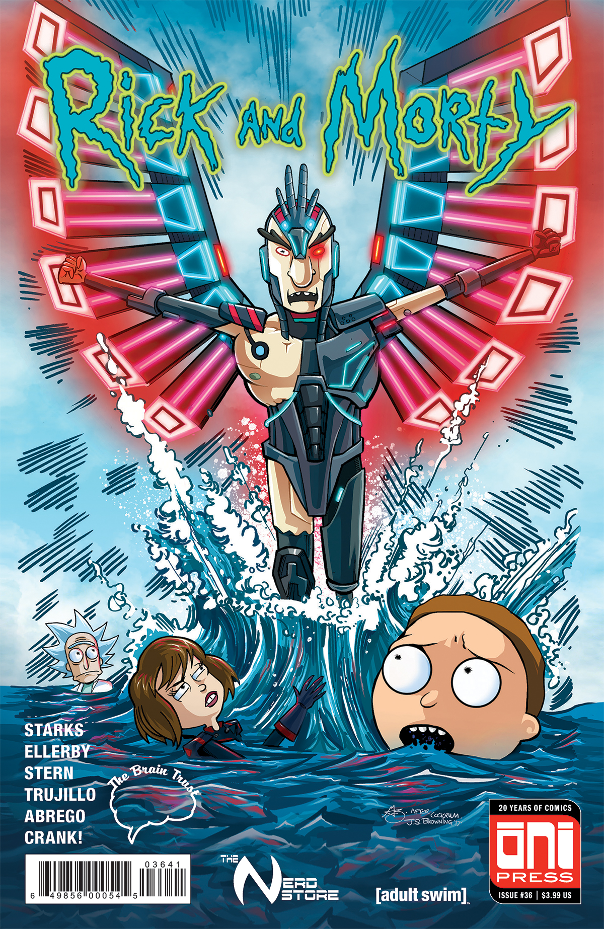 Rick and Morty Issue 36