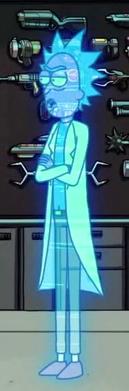 Hologram Rick (Edge of Tomorty: Rick Die Repeat)
