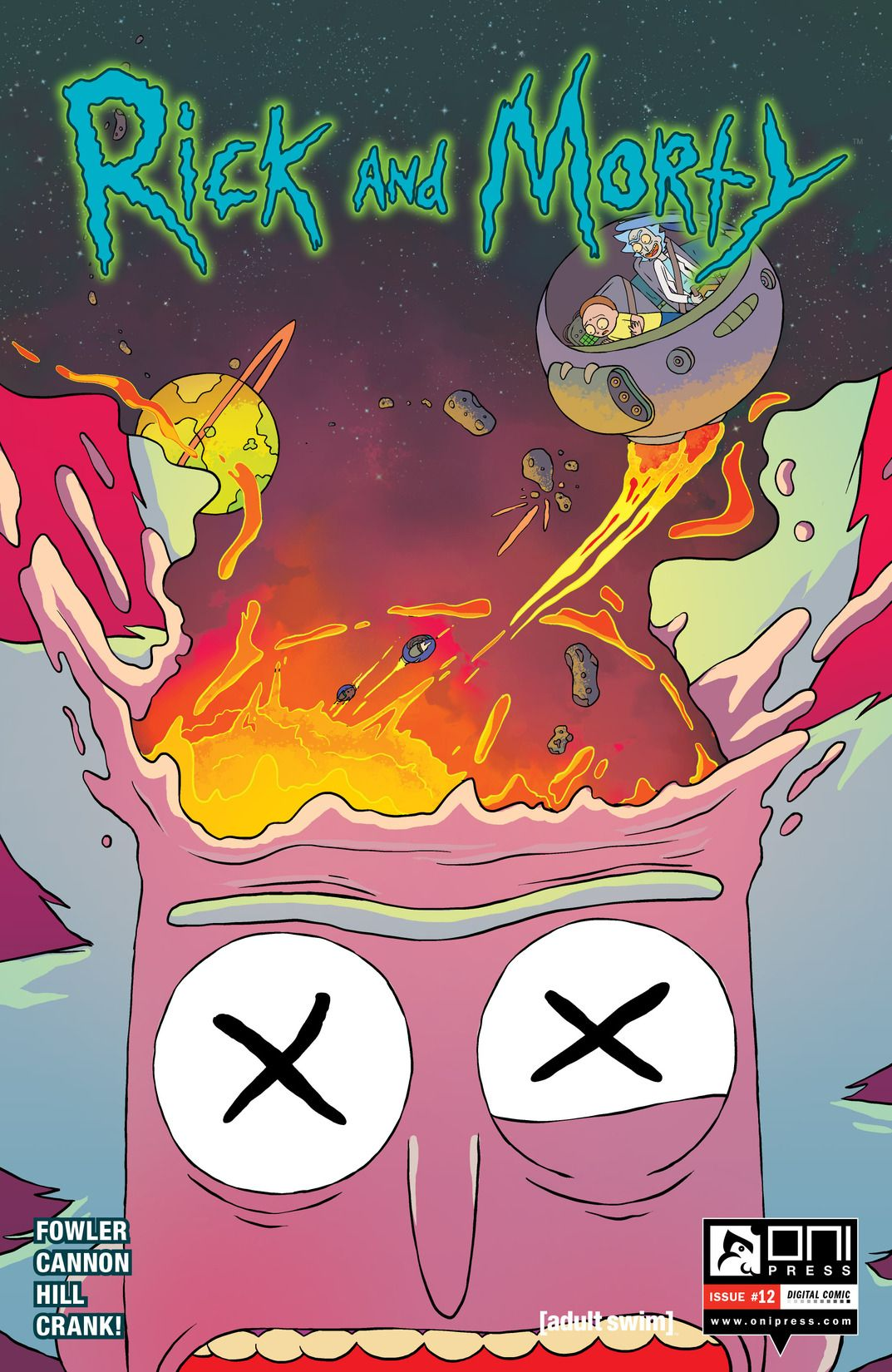 Rick and Morty Issue 12