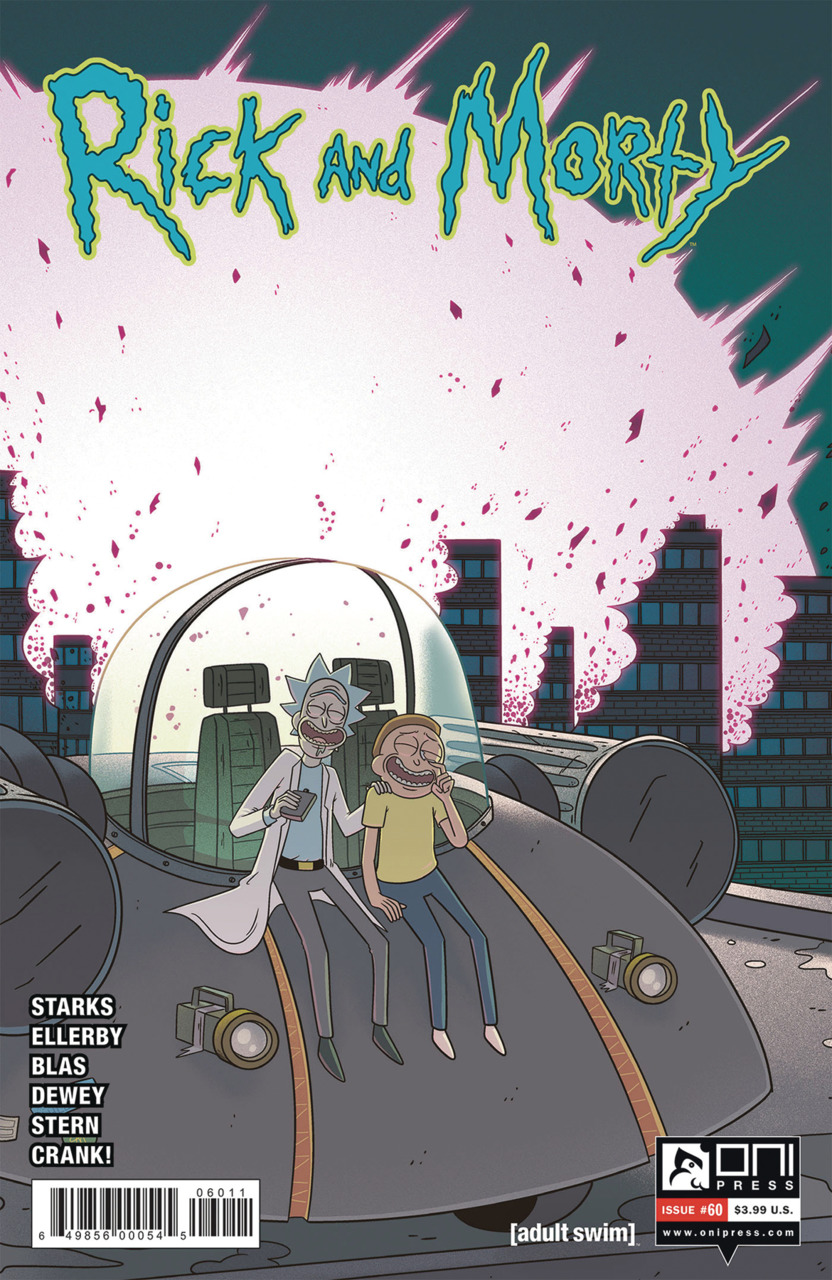 Rick and Morty Issue 60