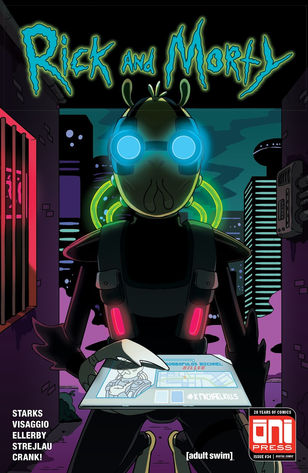Rick and Morty Issue 34