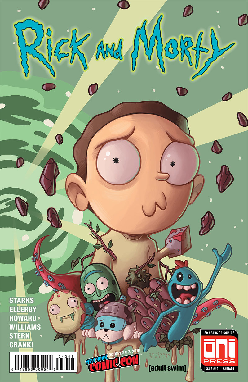 Rick and Morty Issue #42 Variant  Cover Oni Press Adult Swim Comic
