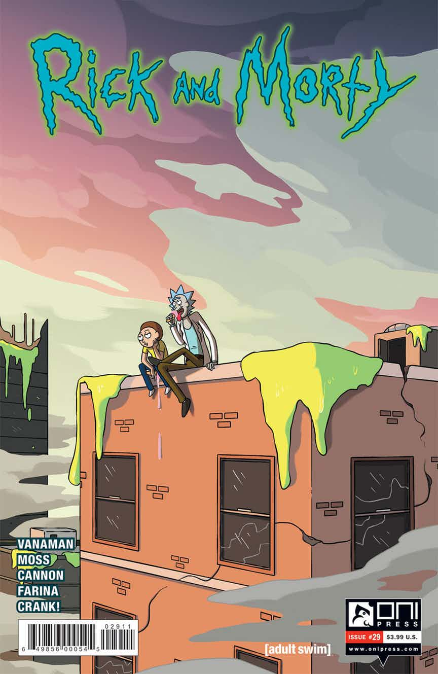Rick and Morty Issue 29
