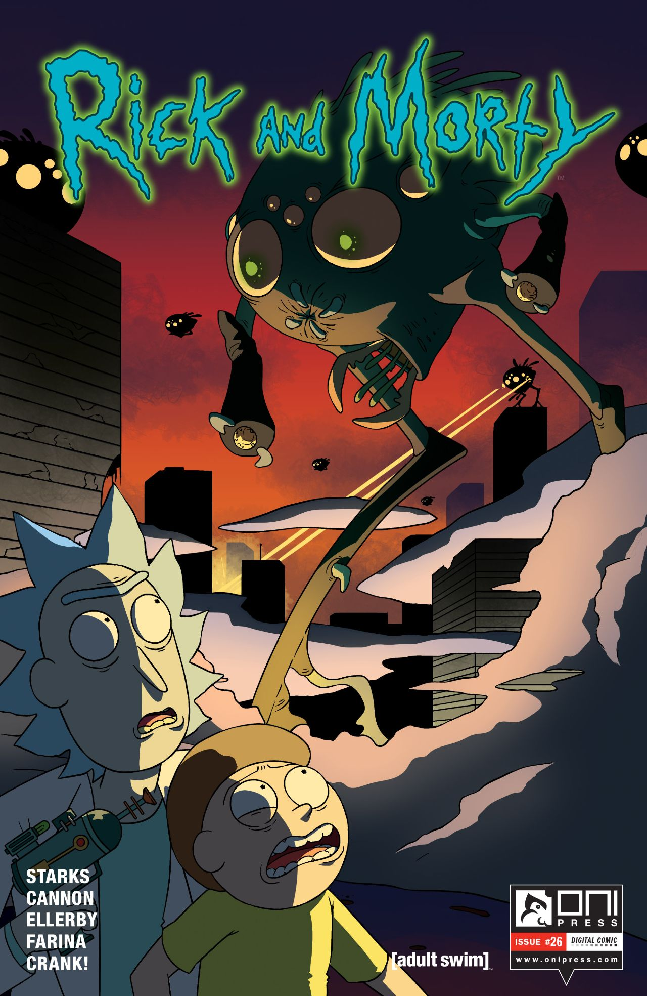 Rick and Morty Issue 26