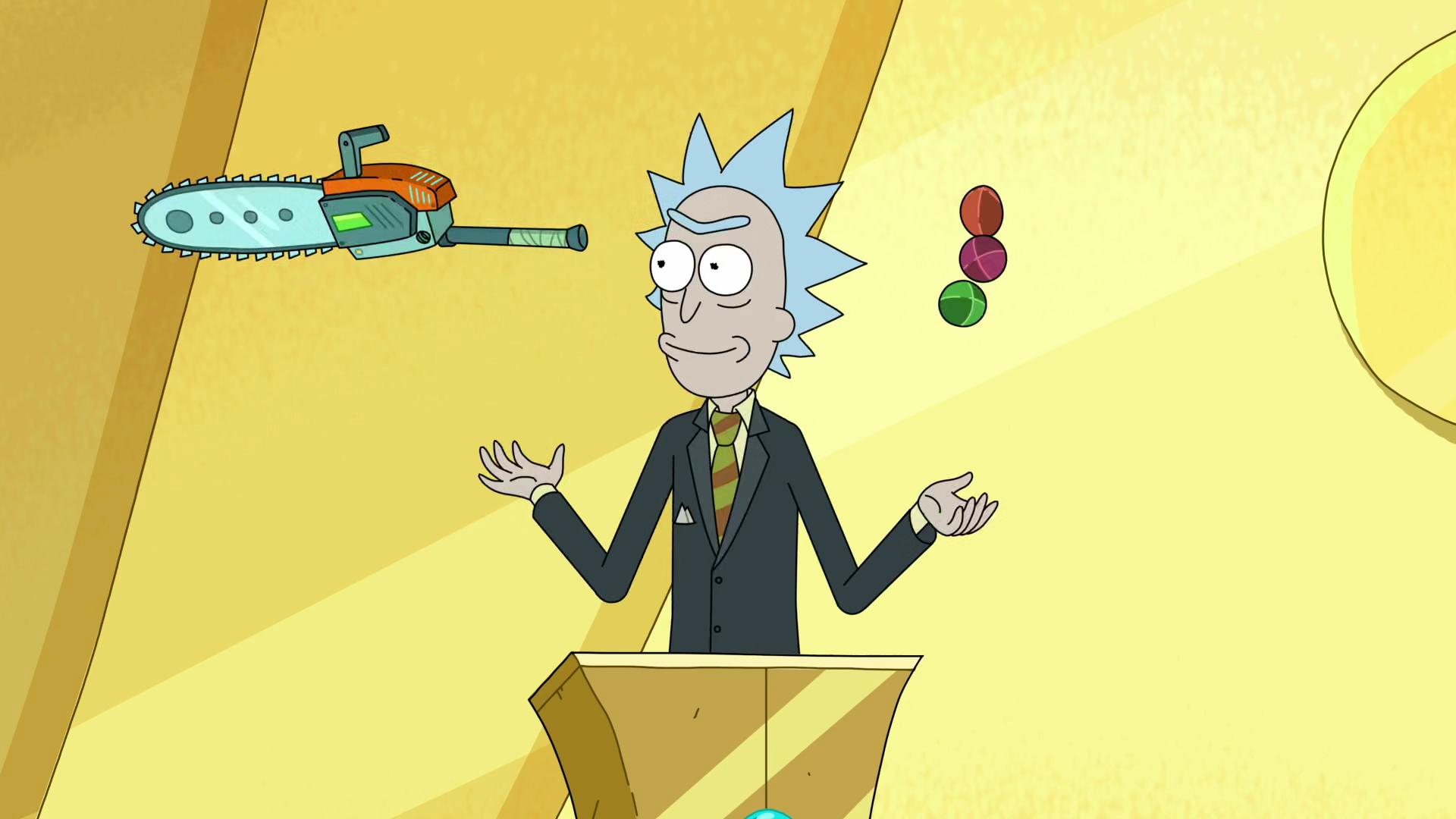 Juggling Rick