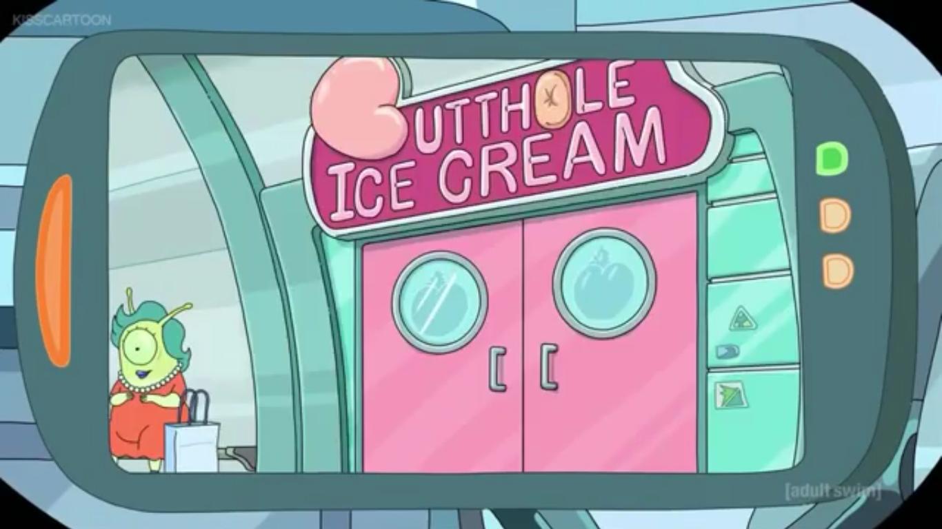 Butthole Ice Cream