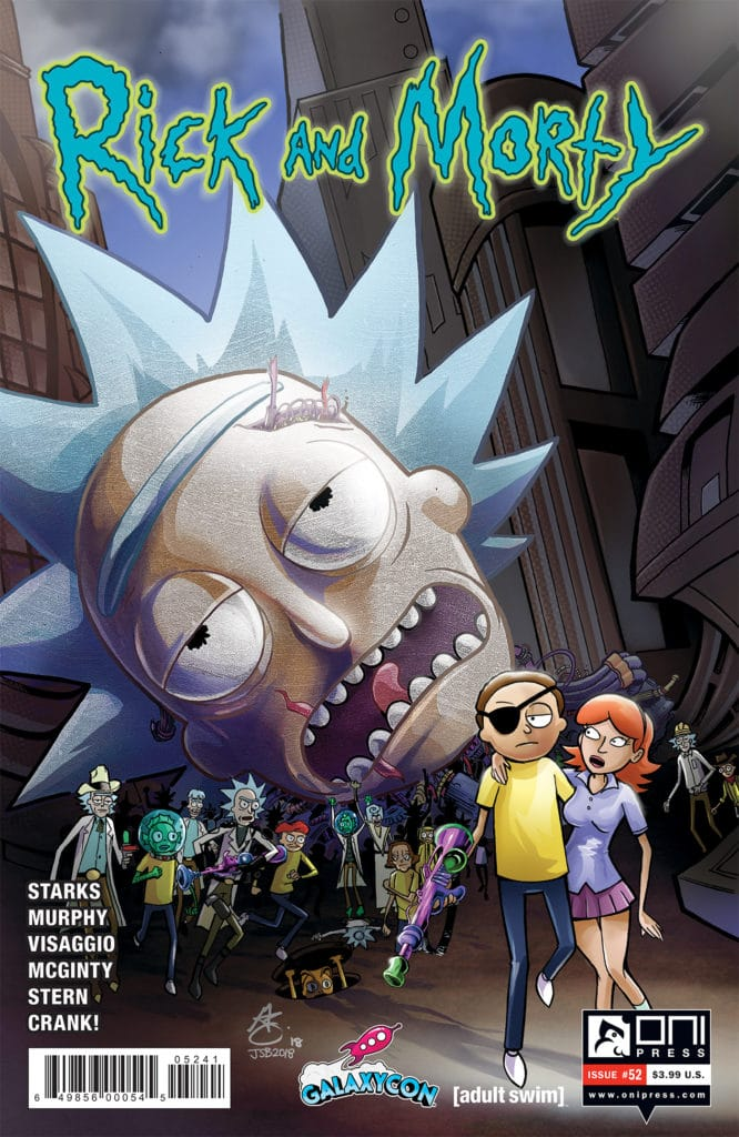 Rick and Morty Issue 52