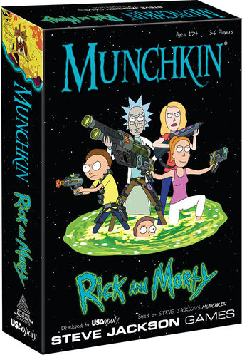 Munchkin Rick And Morty Wiki Fandom