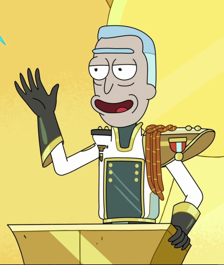 Retired General Rick